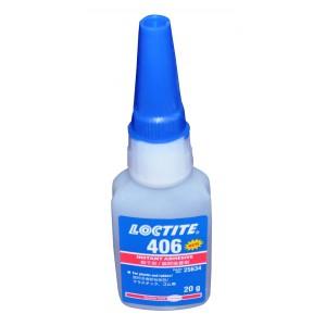 LOCTITE 406 SUPER GLUE - INSTANT ADHESIVE - 20G - PLASTIC & RUBBER