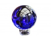 Cobalt blue crystal ball